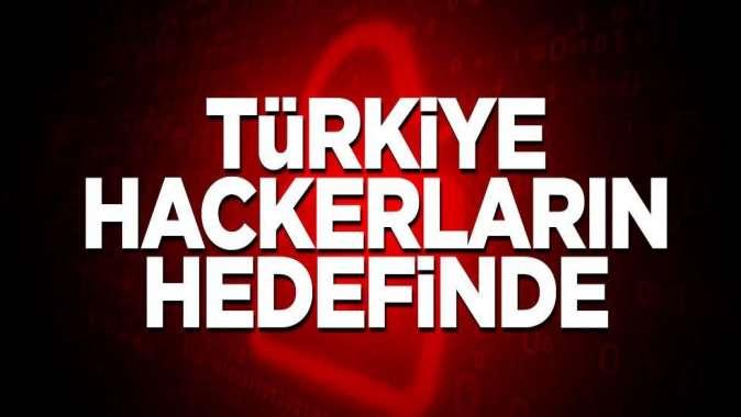 Türkiye hackerların hedefinde