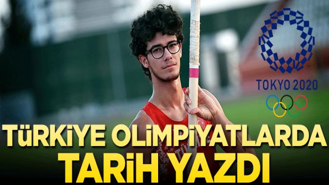 Türkiye olimpiyatlarda tarih yazdı