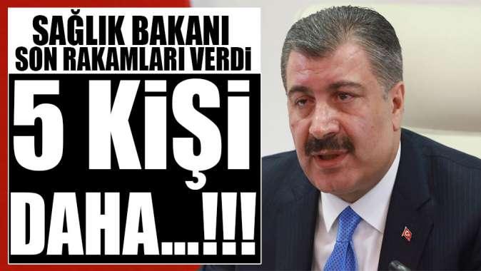 Türkiye'de vaka sayısı arttı!