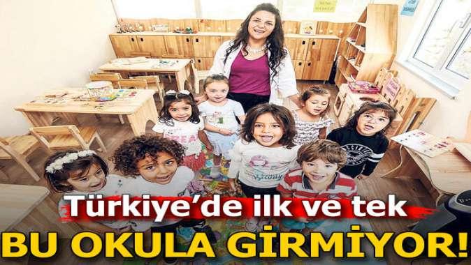 Türkiyenin ilk alerji anaokulu: Bu okula süt girmiyor!