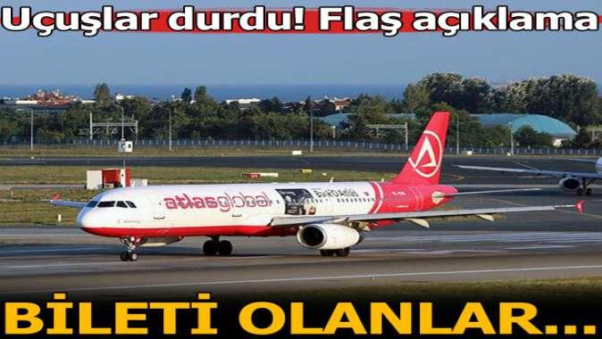 """Ulaştırma ve Altyapı Bakanlığı'ndan """"Atlas Global Havayolları"""" açıklaması"""