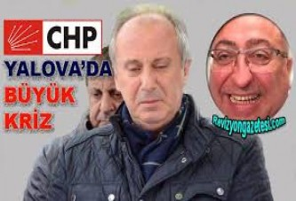 Yalova'da CHP'liler birbirine girdi